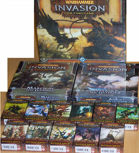 WARHAMMER-INVASION-LCG-CARD-GAME-21-EXPANSIONS-NEW-FFG