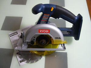 New-18v-Ryobi-P501-Cordless-Circular-Saw-One-use-P100-P103-P104-battery
