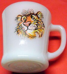 Vtg Glass Promotional Original Esso/Exxon Tony The Tiger ...