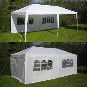 10 X 20 White Party Tent Ebay