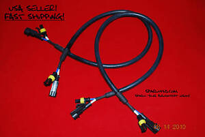 xenon hid 48 extension wire harness wires international trucks tow truck volvo ebay