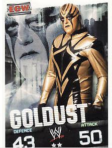 Goldust ECW Card WWE Slam Attax Evolution