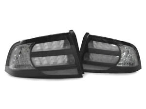 USA FAST SHIP 2004 2005 2006 2007 2008 ACURA TL TYPE-S BLACK / CLEAR TAIL LIGHTS
