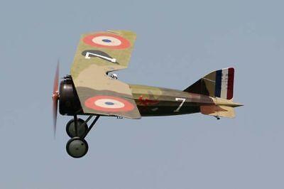 Giant 1/5 Scale French WW-I Morane Saulnier A1 Monoplane Plans,Templates
