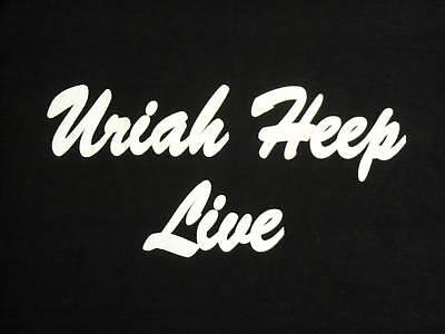 Uriah Heep Live T-Shirt -  Large
