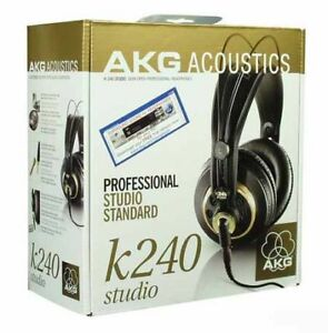NEW-AKG-K240-Studio-Headphones-K-240-S-K240S-Monitor-headphone-Ships-worldwide