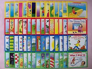 LOT 60 LEARN TO READ KIDS BOOKS BEGINNING EARLY READERS TEACHING READING SET NEW