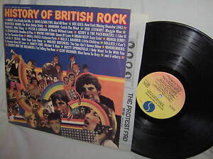 various HISTORY OF BRITISH ROCK-KINKS/DONOVAN/ETC 2LP