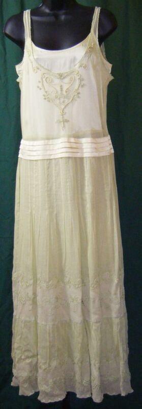 NATAYA Lacy Romantic Dress  Sz M