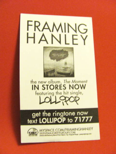 Framing Hanley Lollipop Moment Amp Board Bike Sticker | eBay