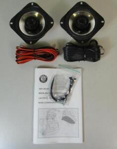 SKODA FABIA BLAUPUNKT 50W REAR SPEAKER UPGRADE KIT