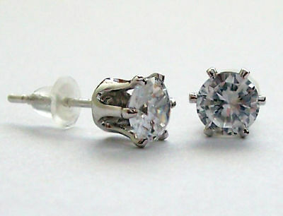 DB80-6-CT-8-0mm-CZ-SIMULATED-D-ROUND-STUD-EARRING