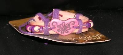 Beaded Bracelet Adjustable Ladies Girls Handmade Band Flower
