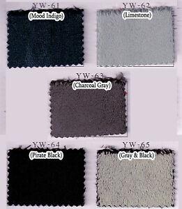 SOFT-MINKEE-MINKY-CHENILLE-FLEECE-FABRIC-5MM-PILE-SOLID-PLAIN-65-VARIES-60Wx36-L