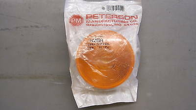 """Peterson 426a Sealed, 4"""" Round Amber Light"""