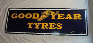 Vintage-Goodyear-Tyres-sign-with-Flying-Shoe-Logo