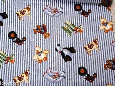 Blue Jean Teddy Bear Fabric Tractor Teddy Toss Tickling Tractor Baby Free Ship