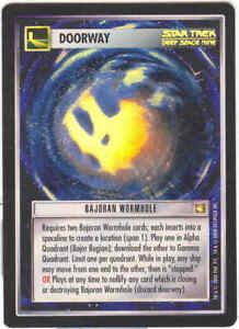 Star Trek CCG Bajoran Wormhole Foil Promo Tournament