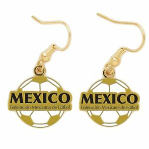 Mexico-Federacion-Mexicana-de-Futbol-Logo-Earrings
