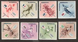 DOMINICAN REPUBLIC # 479-83,C100-02 OLYMPICS SPORTS