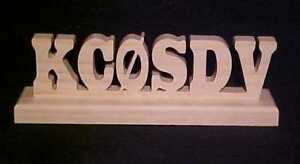 Personalized-Amateur-Ham-Radio-Wood-Call-Sign-Callsign-by-KC-SDV