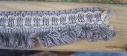 10-Yards-Blue-Gray-Loop-Cord-Fringe-Trim