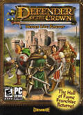 DEFENDER OF THE CROWN Heroes Live Forever - Robin Hood Cinemaware PC Game - NEW!