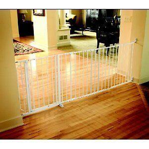 Regalo-Maxi-X-Wide-Walk-Thru-Baby-Pet-Child-Safety-Gate