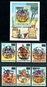 Guineya-Bissau-362e-362re-MNH-Postal-Union-UPU-X1