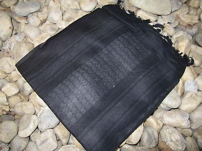PLO Halstuch Schal Palästinenser Halstuch Headwrap Shemagh Schwarz Scarf Black
