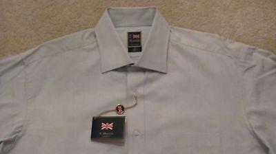 T. Harris (london) Cotton Dress Shirt -16 X 34/35 - Newwtags -free Shipping