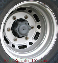 Mercedes freightliner dodge sprinter wheel simulator rv for Mercedes benz sprinter wheel covers