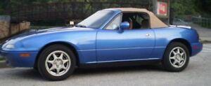 1999-2005-Mazda-Miata-Convertible-Top-w-defrost-glass-amp-Rainrail-Tan-New