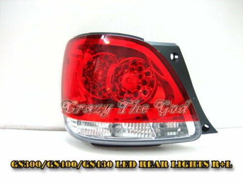 GS300 GS400 GS430 98-05 LED REAR LIGHT R/Clear2 LEXUS
