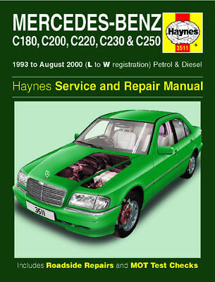 Haynes Workshop Repair Manual Mercedes C Class 93 - 00 3511