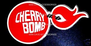 CHERRY-BOMB-Vinyl-Decal-Sticker