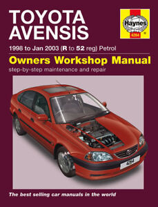 Haynes-Workshop-Repair-Manual-Toyota-Avensis-98-03