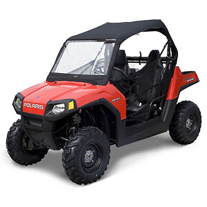 Polaris RZR UTV Soft Top with Front Windshield and Rear Window