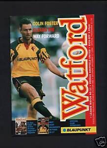 Watford-V-Sheffield-United-programme-1994-95