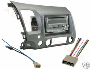 2006 2011 honda civic stereo radio install dash kit wire. Black Bedroom Furniture Sets. Home Design Ideas