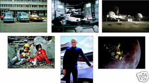 UFO-Sci-Fi-TV-Show-6-Card-POSTCARD-Set-Interceptor