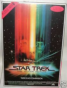 STAR TREK THE MOTION PICTURE : Jigsaw Puzzle   (DJ)