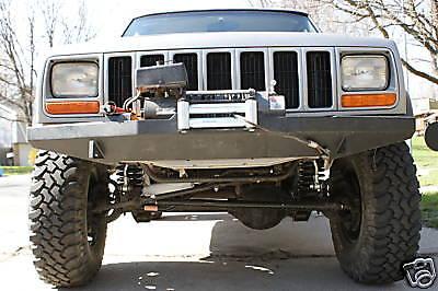 Custom Winch Bumper For Jeep Cherokee Xj Mj
