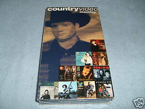 country music monthly country releases vhs new. Black Bedroom Furniture Sets. Home Design Ideas