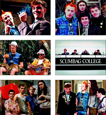The Young Ones Rik Mayall 6 card POSTCARD Set