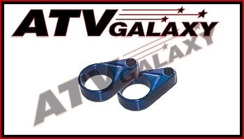 Streamline Blue Brake Line Clamps Yamaha Raptor 660/700