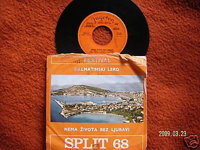 Festival Split 68   Dalmatinski Lero - D. Trubaduri