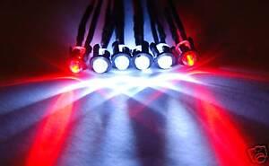 RC-Lights-E-Revo-Slash-Jato-Stampede-Traxxas-4W2R-P-w-JR-Male-Plug