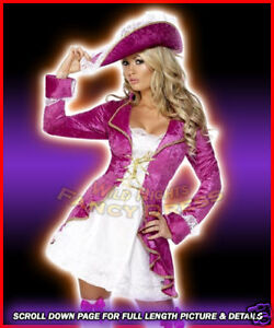 FANCY-DRESS-COSTUME-FEVER-PINK-PIRATES-TREASURE-MED
