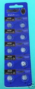 AG6-LR920-371-370-SR920-SR921-SR920SW-Batteries-x-10-Value